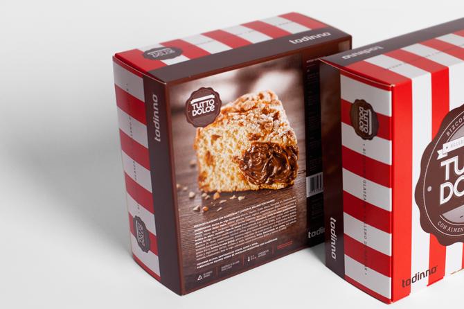 欣赏 包装设计/国外包装设计欣赏——秘鲁Tutto Dolce蛋糕面包甜品包装设计3